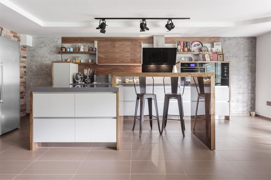 Интериорна фотография на кухня